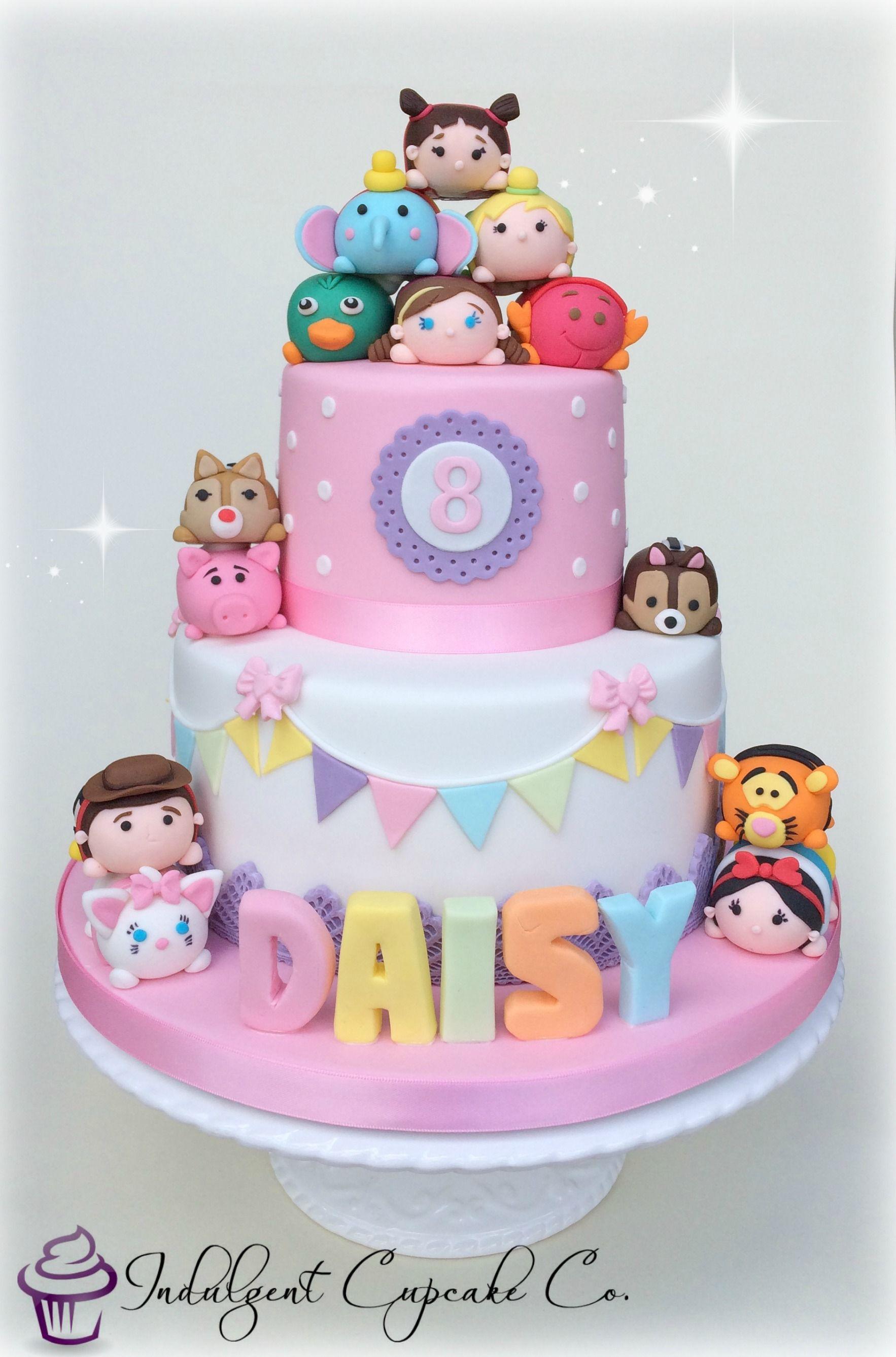 Tsum Tsum cake Eat Cake for Breakfast Pinterest Cake