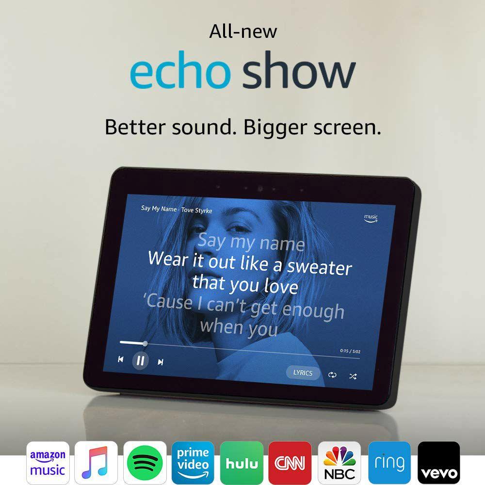 Echo Show Smart Display with Alexa Home Assistant Alexa