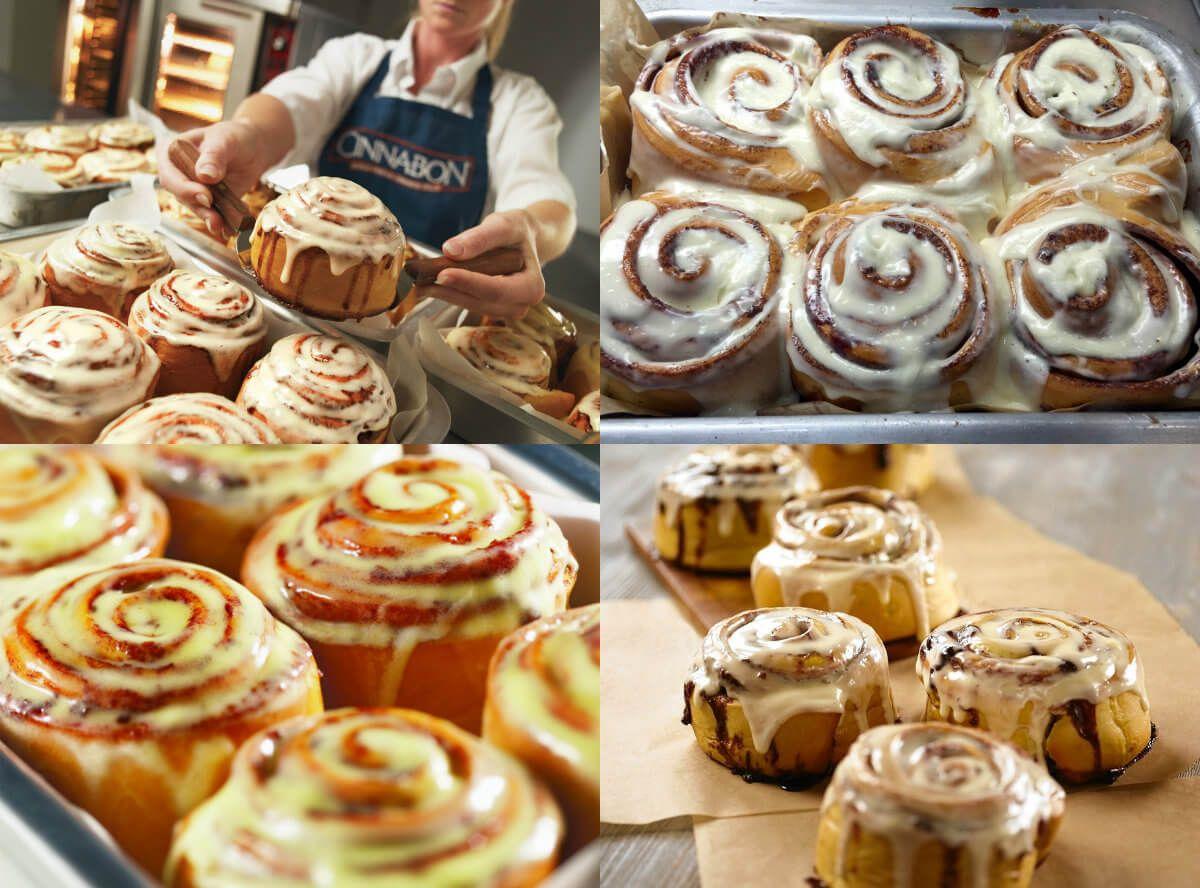 عالم الطبخ والجمال طريقة عمل السينابون Food Arabic Food Mini Cupcakes