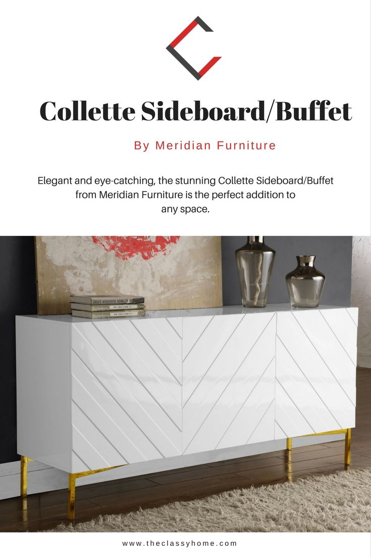 classy home furniture. Collette White Lacquer Gold Stainless Steel Base Sideboard/Buffet | The Classy Home Furniture Mall Pinterest Sideboard Buffet, Buffet And