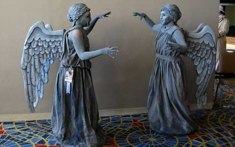 whovian wedding | Doctor Who Weeping Angels Costume