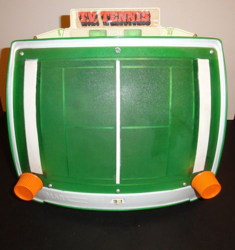 Vtg 1970s 1974 Retro Groovy Tv Tennis Louis Marx Electric Toy Plastic Game 2426 Childhood Toys Vintage Toys Doll Games