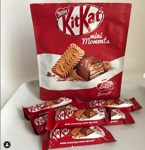 Whilst Some New Kitkat Varieties Can Be A Bit Iffy This One Is Executed Perfectly It S Just Simple Wafer Not Too Chunky O In 2020 Biscoff Sweet Savory Chocolate Milk
