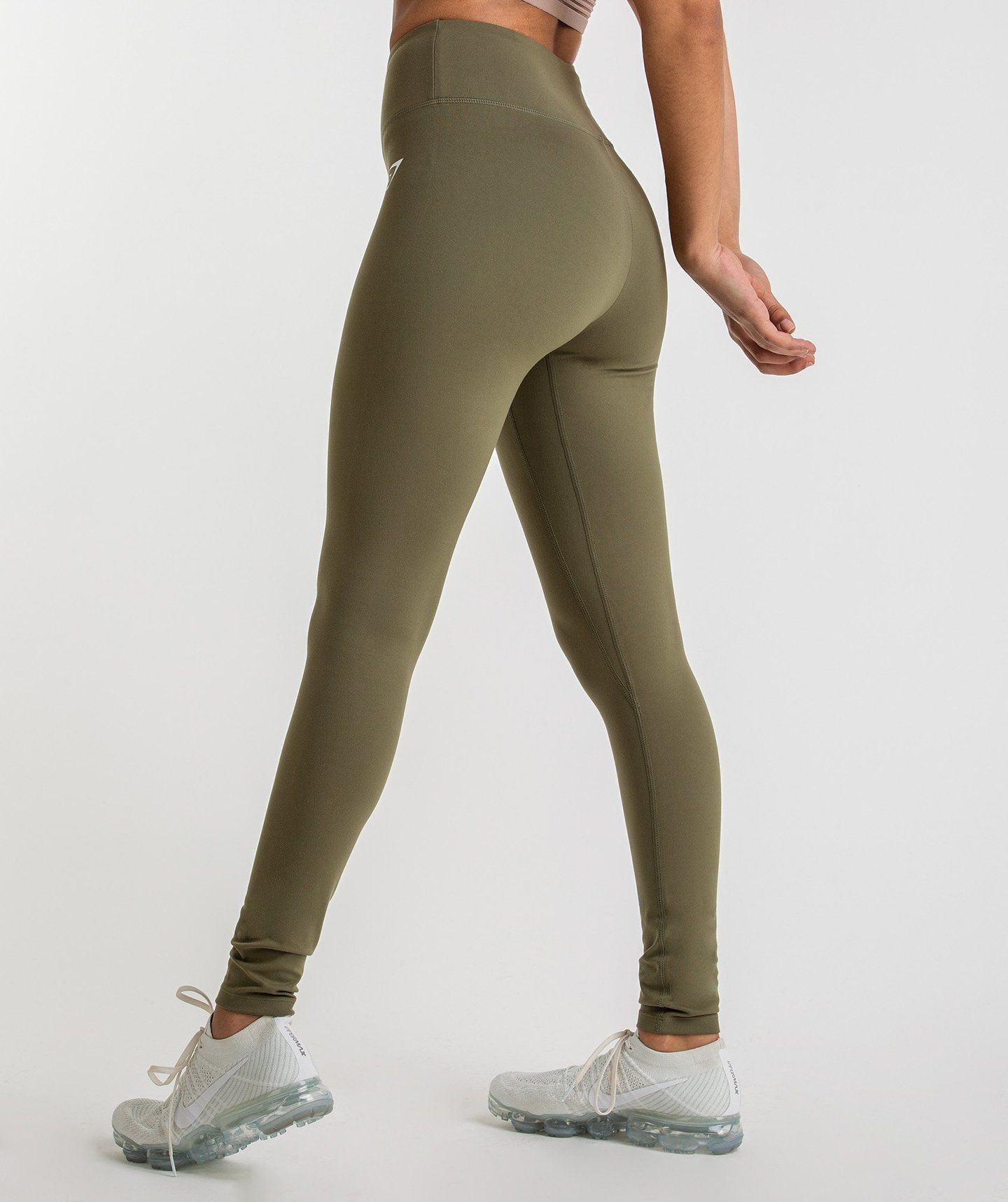 6fb8960e28d0a Gymshark Dreamy Leggings - Khaki 1 | gym shark outfits