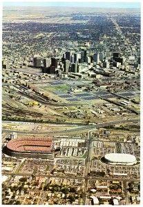 Bears And Mile High Stadium In Denver Co Stadium Photo Aerial Photo