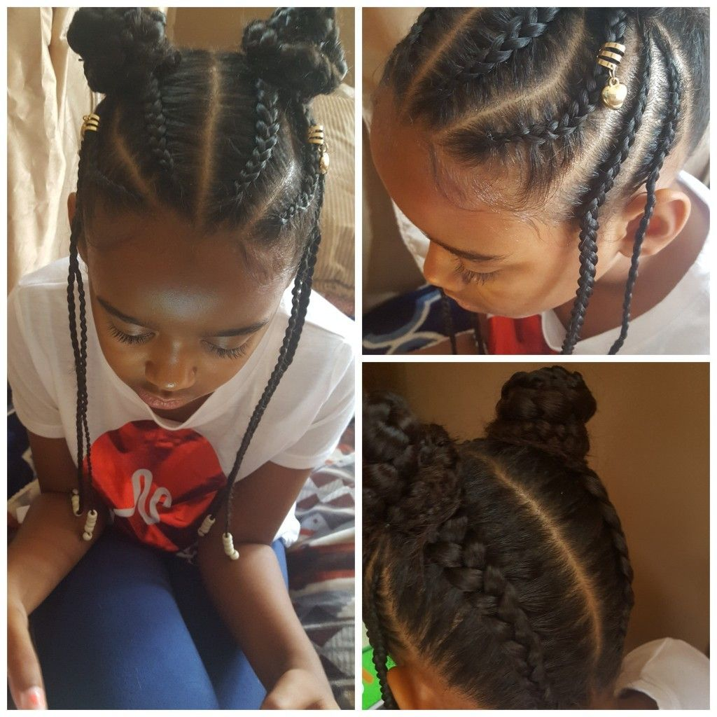 Little girl braids | my creations | Pinterest | Kid braid ...