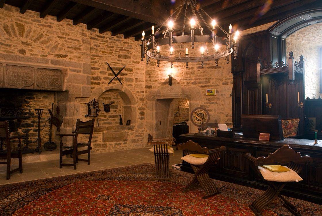 Office on Ground Level | Medieval Castle de Montbrun, Dournazac ...