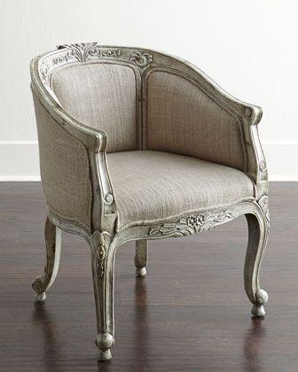 Petite Chair linden petite barrel chair | barrels, breakfast nooks and nook