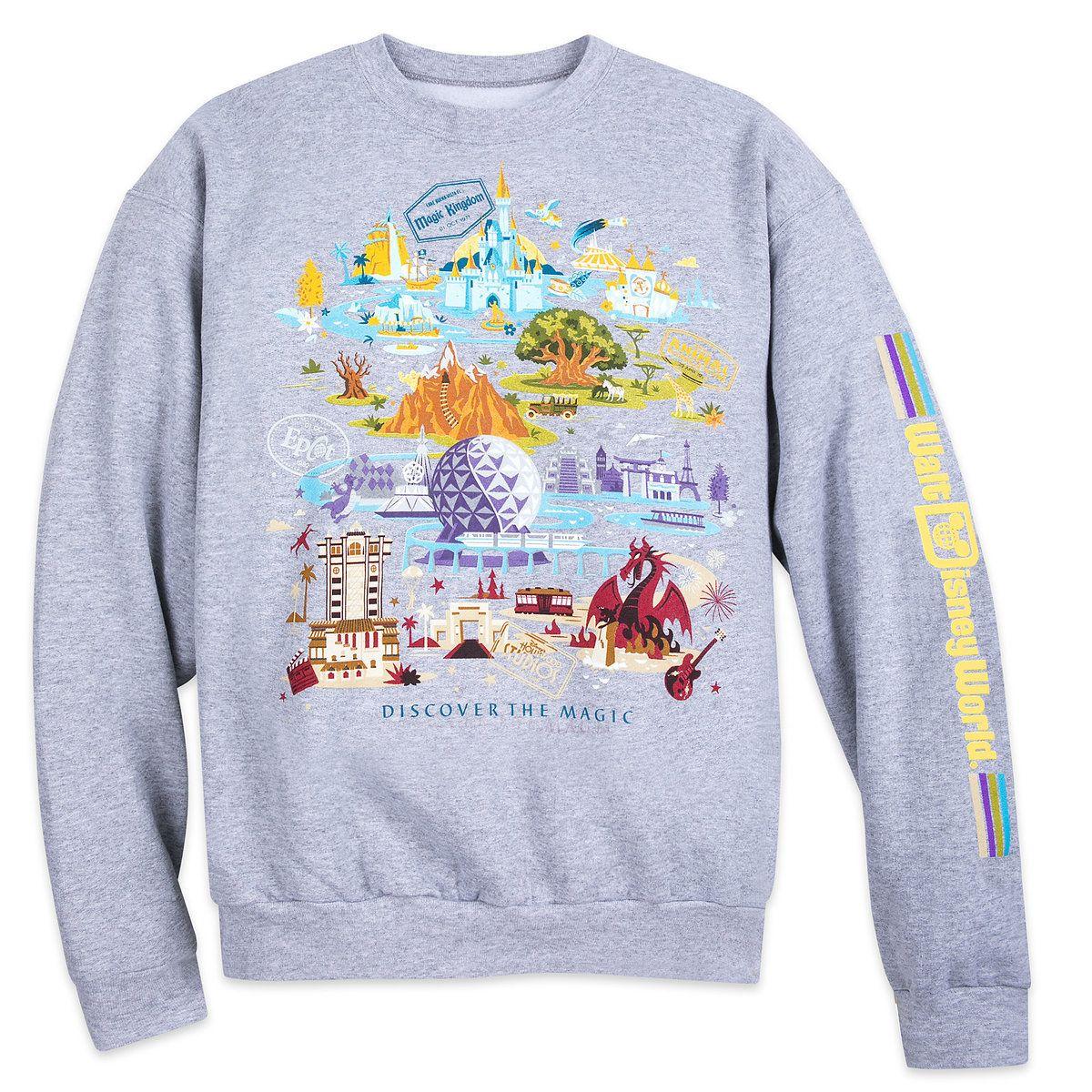 Walt Disney World Pullover Sweatshirt for Adults in 2019