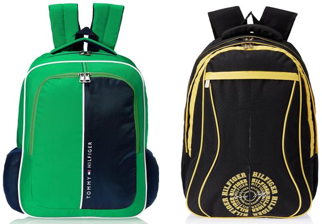 3d9adb14fcf Enjoy Flat 50% Off On #TommyHilfiger Backpacks. #Bags #SchoolBags #Mytokri