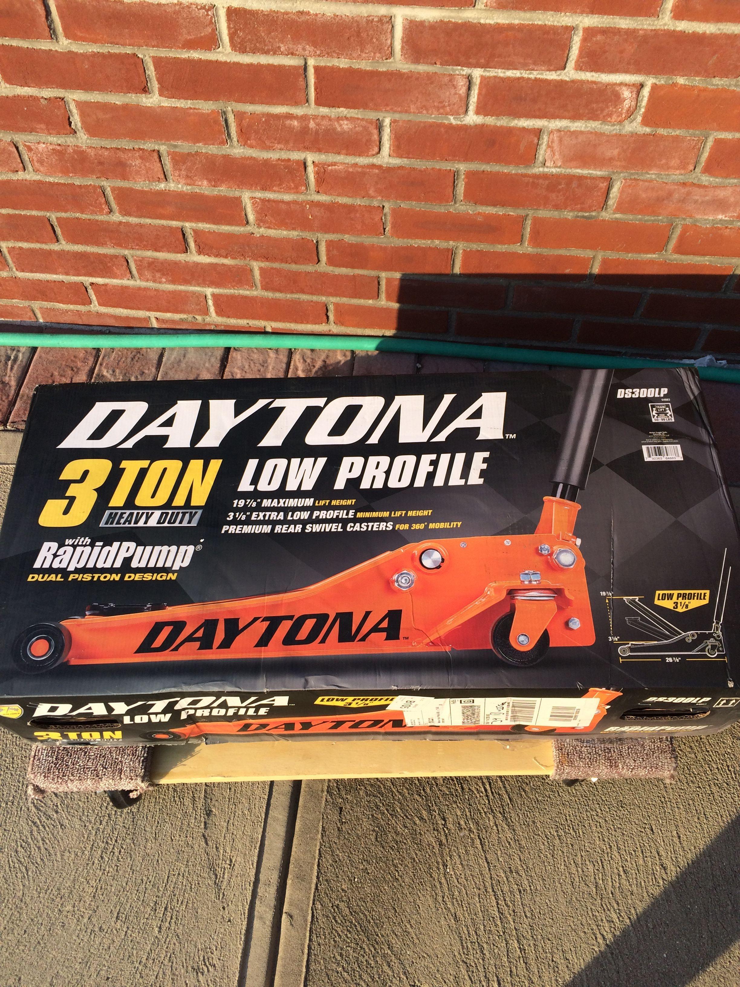 Daytona 3 Ton Floor Jack Review Oil Change Profile Concrete Driveways