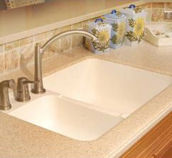 3221 Hi-Macs integrated sink | Solid Surface Counters | Pinterest ...
