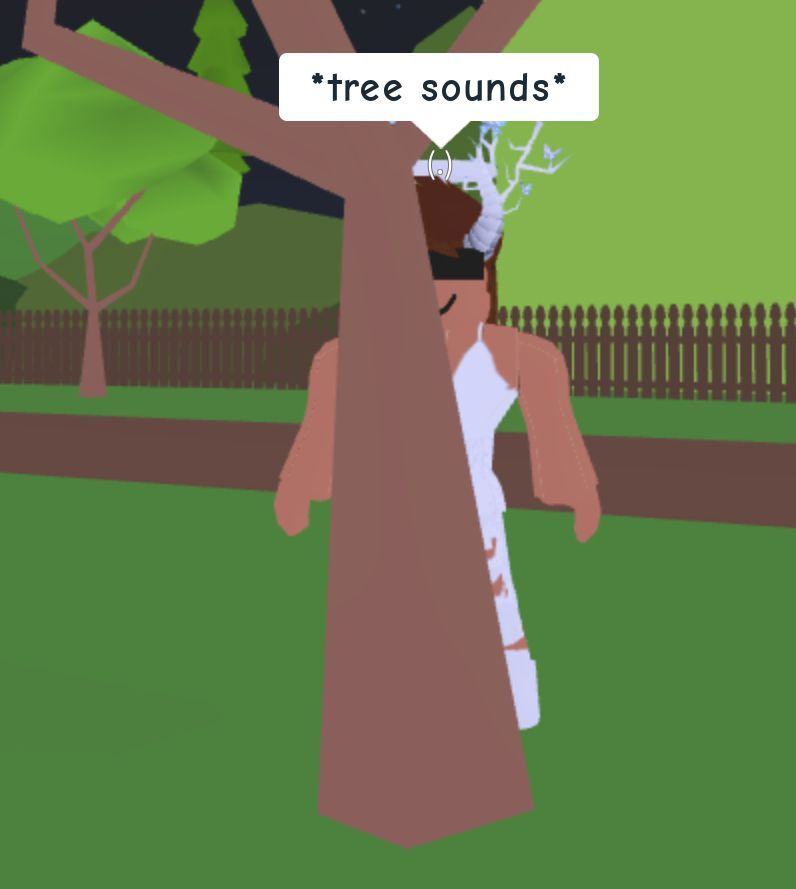 Freshest Roblox Meme Of Me Hiding Behind A Tree And Embracing The