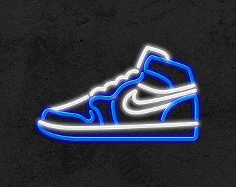 Air Jordan | LED Neon Sign, Michael Jordan Art, Ai