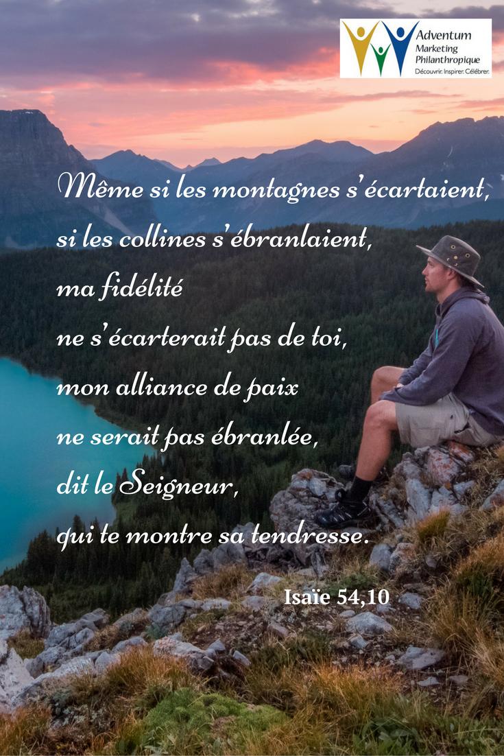 15 décembre 2016 – Isaïe 54,10