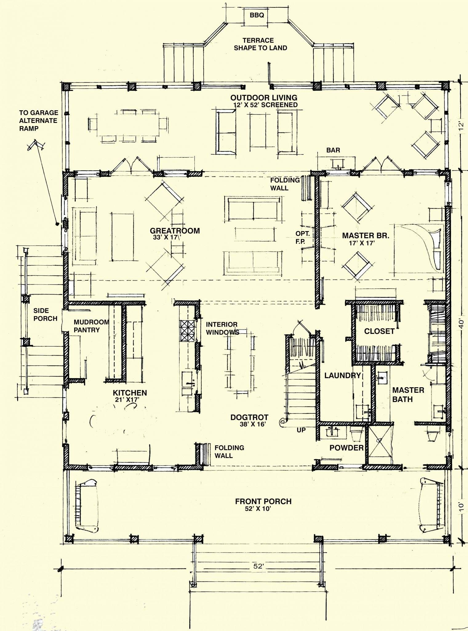Dogtrot house plans lovely modern dog trot house plans luxury