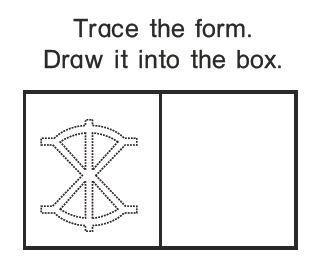 Tracing exercise (med bilder)