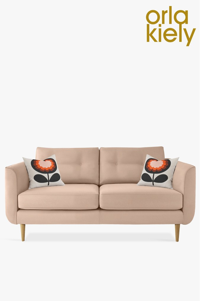 Orla Kiely Linden Medium Sofa With Oak