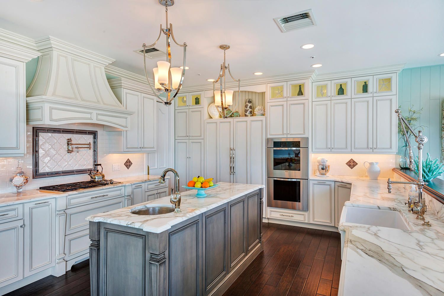 Coastal Elegant Kitchen Point Pleasant New Jerseydesign Line Simple Design Line Kitchens 2018