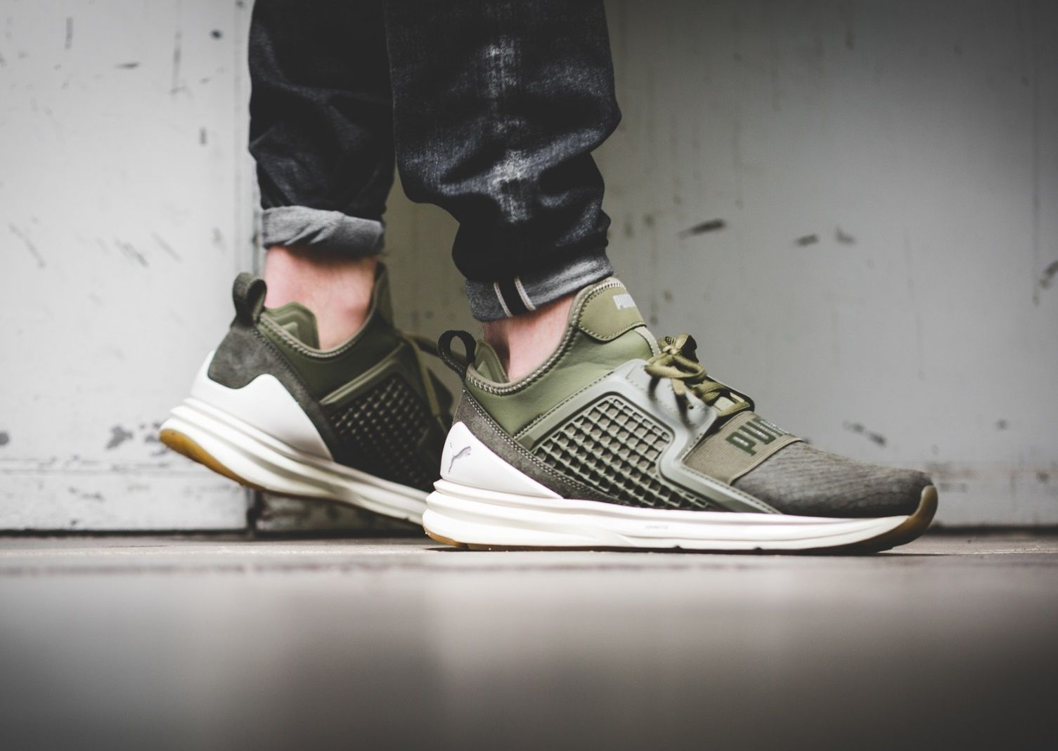 f71005bb147 Puma Ignite Limitless  Olive