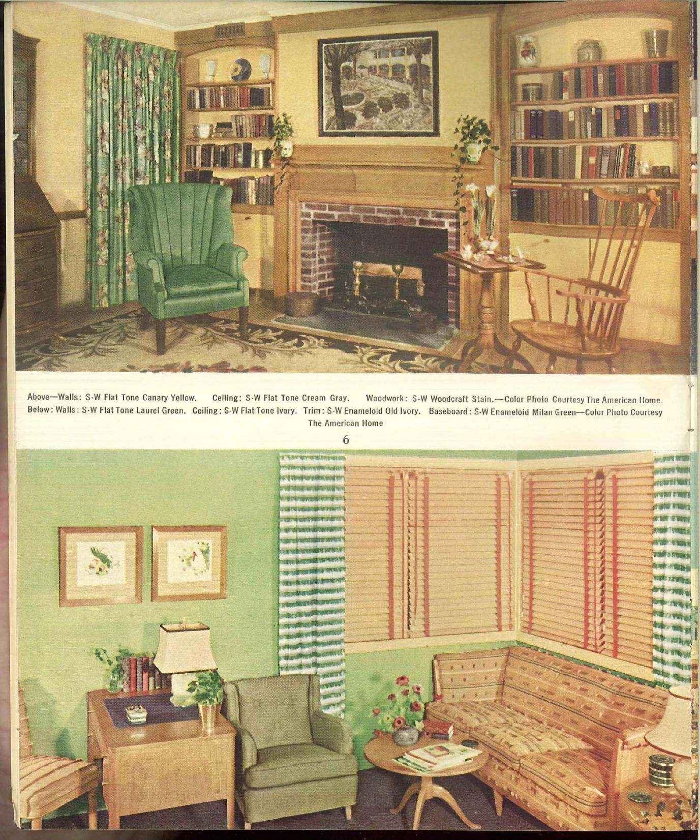 1939 The home decorator and color guide. | Mid-Century Decor To Die ...