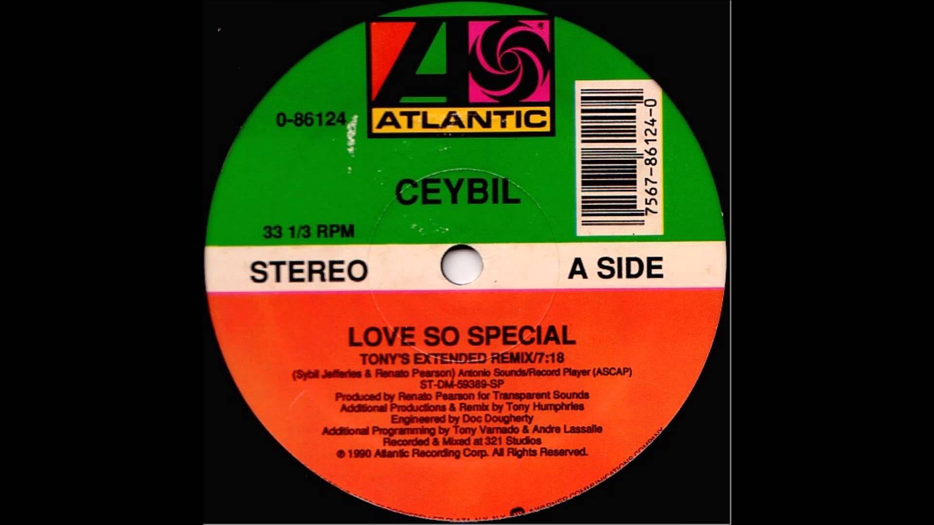 Ceybil Jefferies - Love So Special (Underground Mix)