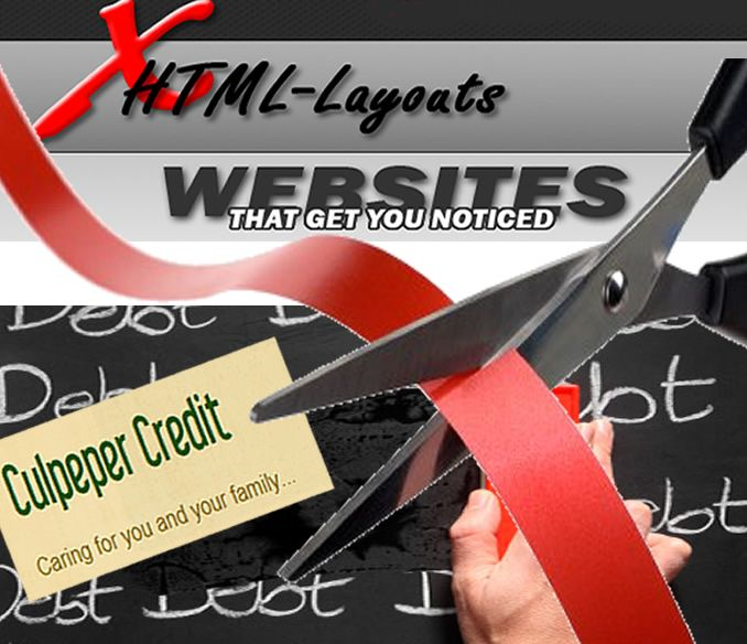 RIBBON CUTTING! Wednesday, April 11 5:30pm for  XHTML - Layouts &   Culpeper Credit at 105 N. Main St., Ste. 202, Culpeper VA 22701    Double the fun and Double the excitement as we host the combined ribbon cutting for XHTML-Layouts and Culpeper Credit on Wed., April 11 at 5:30pm. Refreshments will be served!    They're neighbors supporting one another - join them at 105 North Main Street, suite 202 , Culpeper, VA
