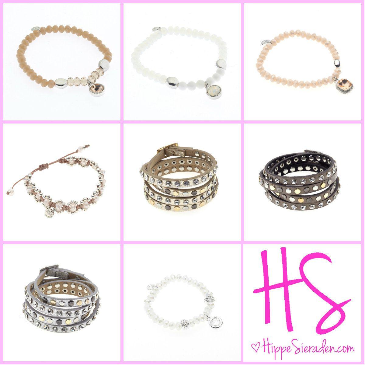 Biba armbanden. HippeSieraden.com