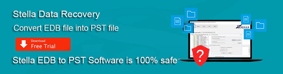 Stella EDB to PST converter software 100 safe and secure