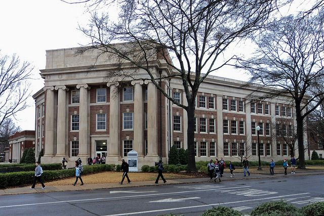 University Of Alabama Bibb Graves Hall 01312010 University Of