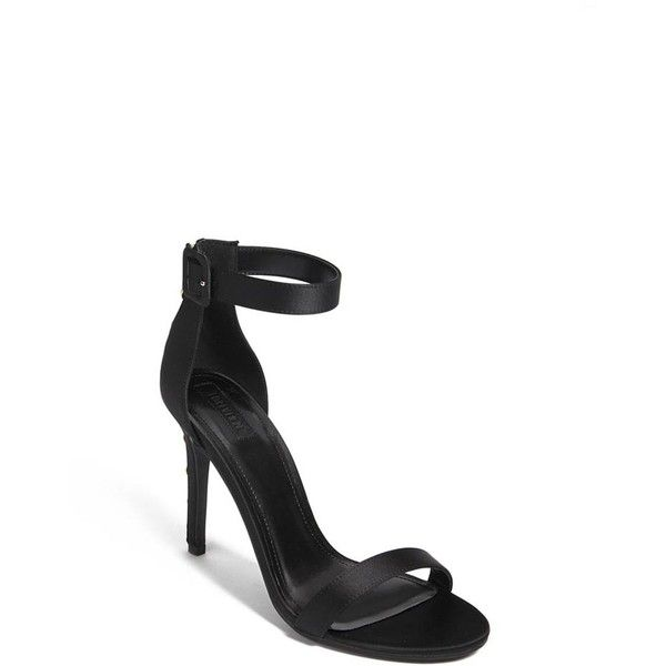d7cacb443a3 Forever21 Satin Ankle-Strap Heels ( 28) ❤ liked on Polyvore featuring shoes