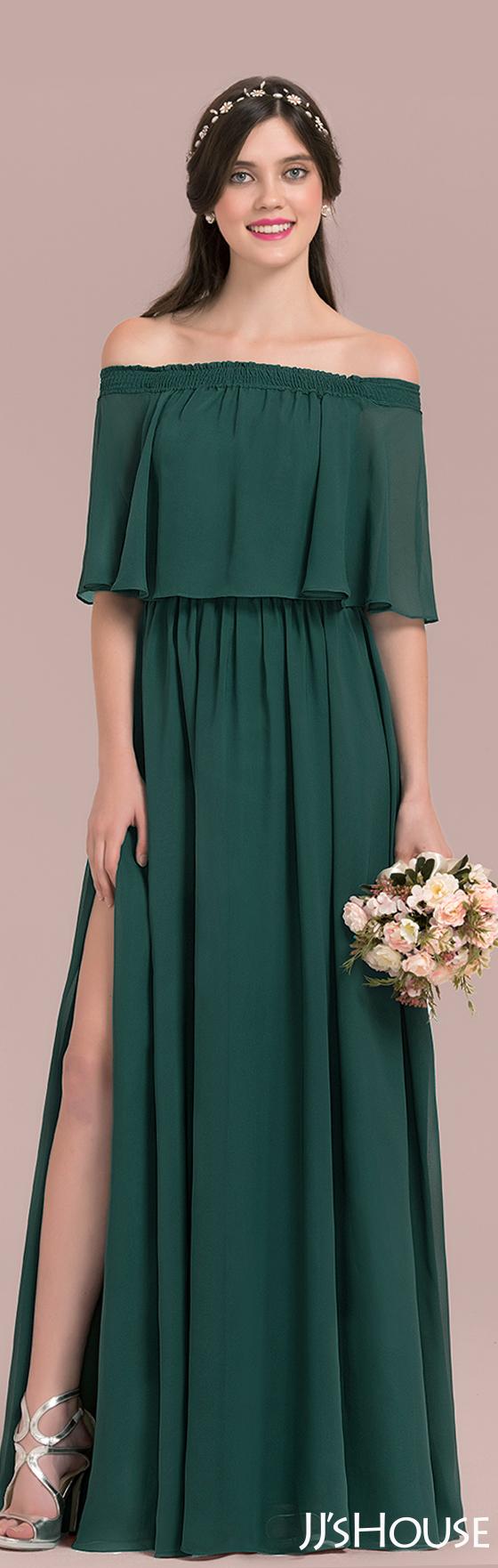 Green bridesmaids dress  Such an amazing bridesmaid dress JJsHouse  Bridesmaid  MODES