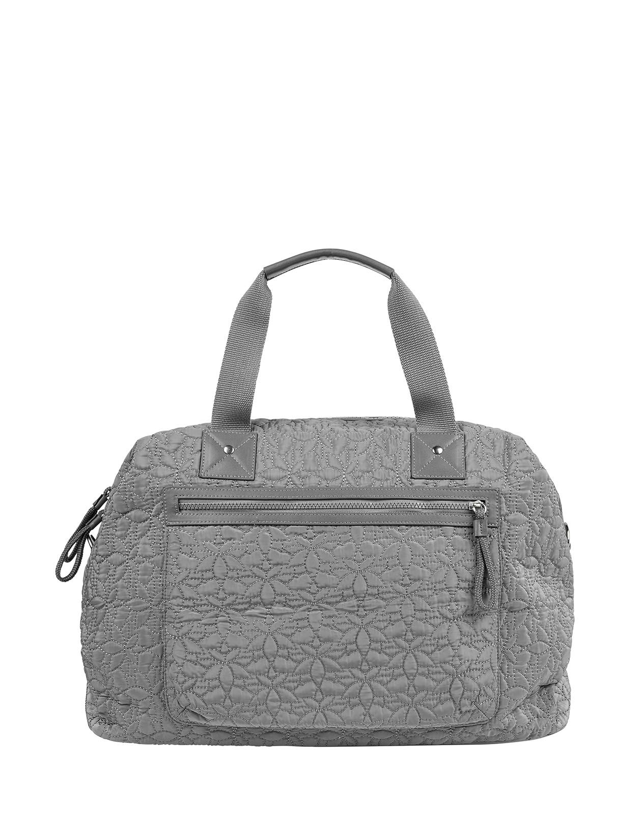 Accessorize Spirit Quilted Sports Tote Bag Grey One Size