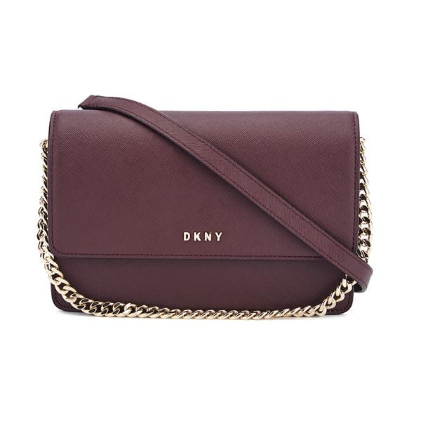 f5c5dd8f1449 DKNY Women s Bryant Park Small Flap Crossbody Bag - Oxblood in 2019 ...