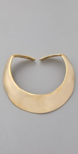Love gold, love chokers. So versatile. Perfect over a button-up shirt.