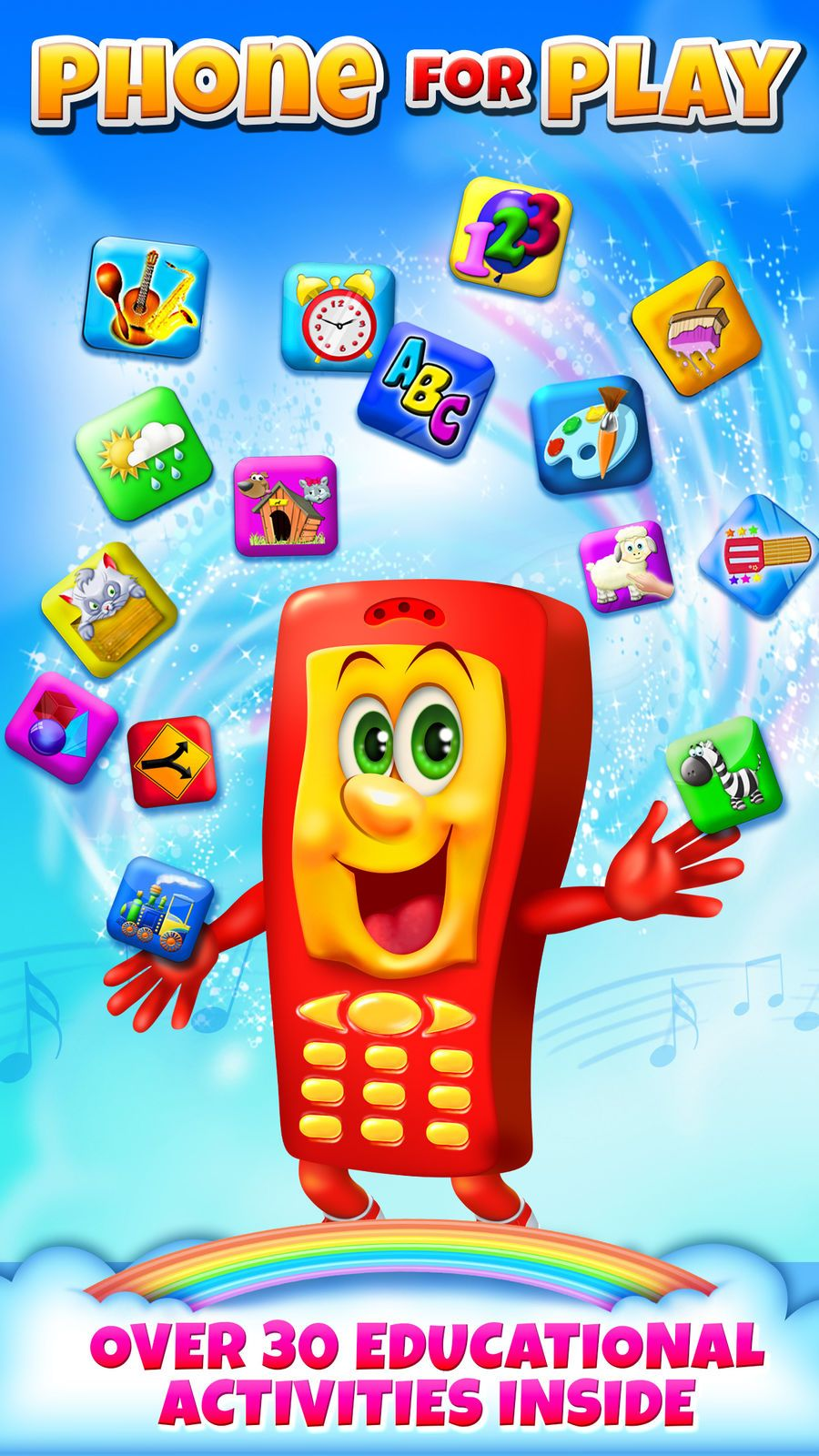 Phone for Play Creative Fun GamesEducationRoleFamily