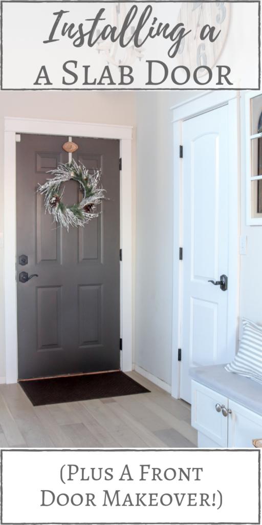 Reliabilt Primed White 1 Panel Solid Core Cast Glass Wood Slab Door Common 30 In 2020 Slab Door Door Makeover Front Door Makeover