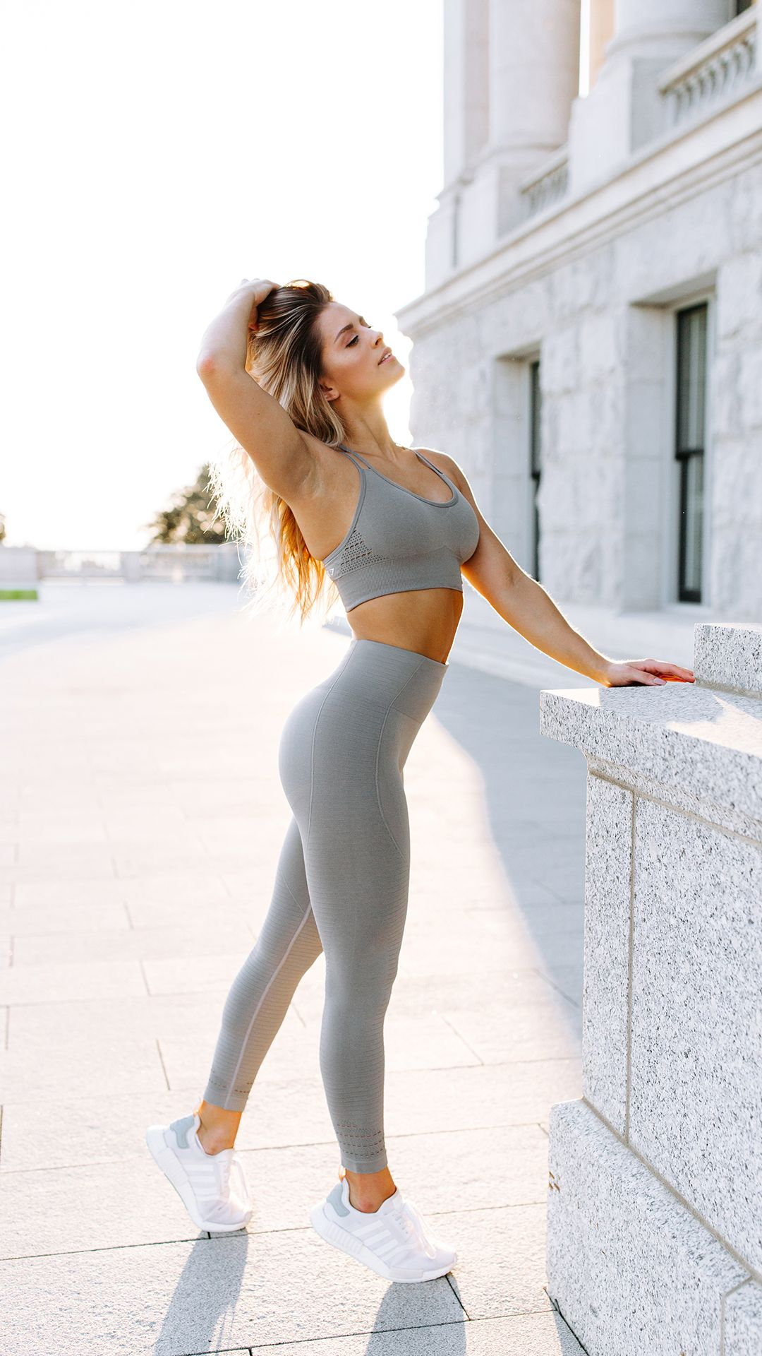 f00440c3d39ec With their stunning and form fitting shape, the Seamless High Waisted  leggings are beautifully different. - Gymshark printed logo- Ribbed detail-  High ...