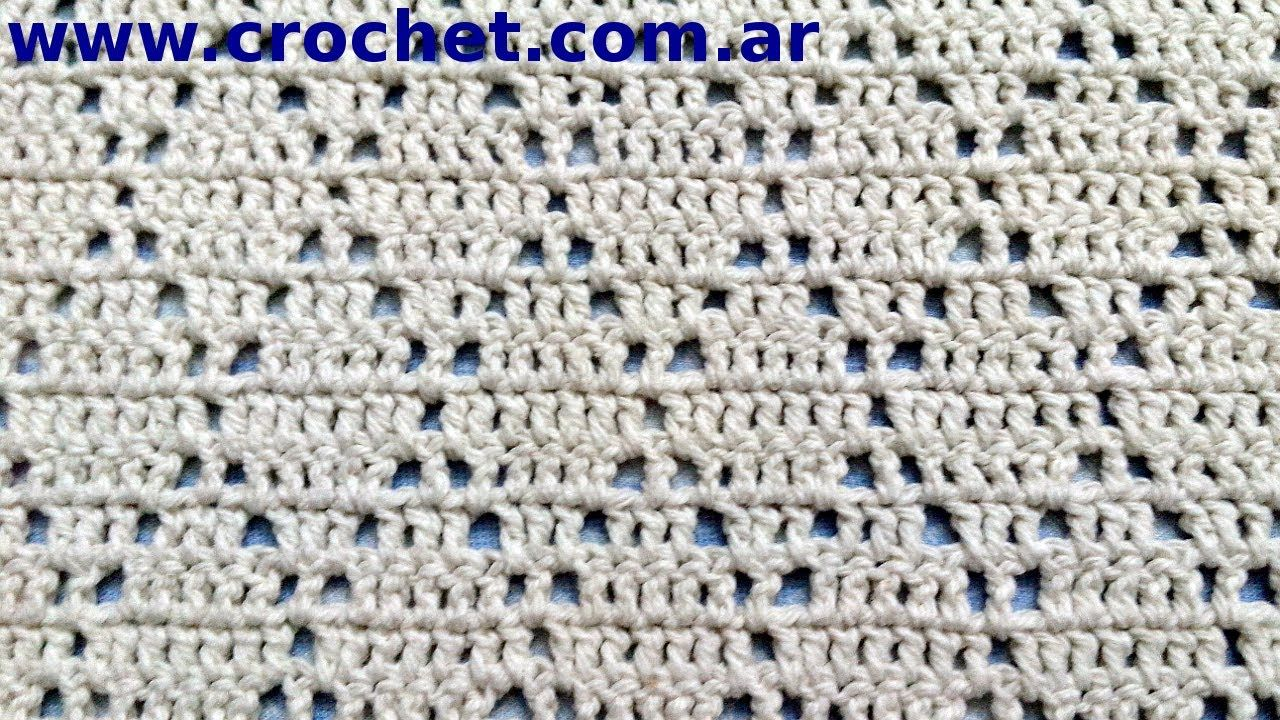 Punto Fantasia En Tejido Crochet Tutorial Paso A Paso Nº 64 Crochet Stitches Video Crochet Crochet Diagram