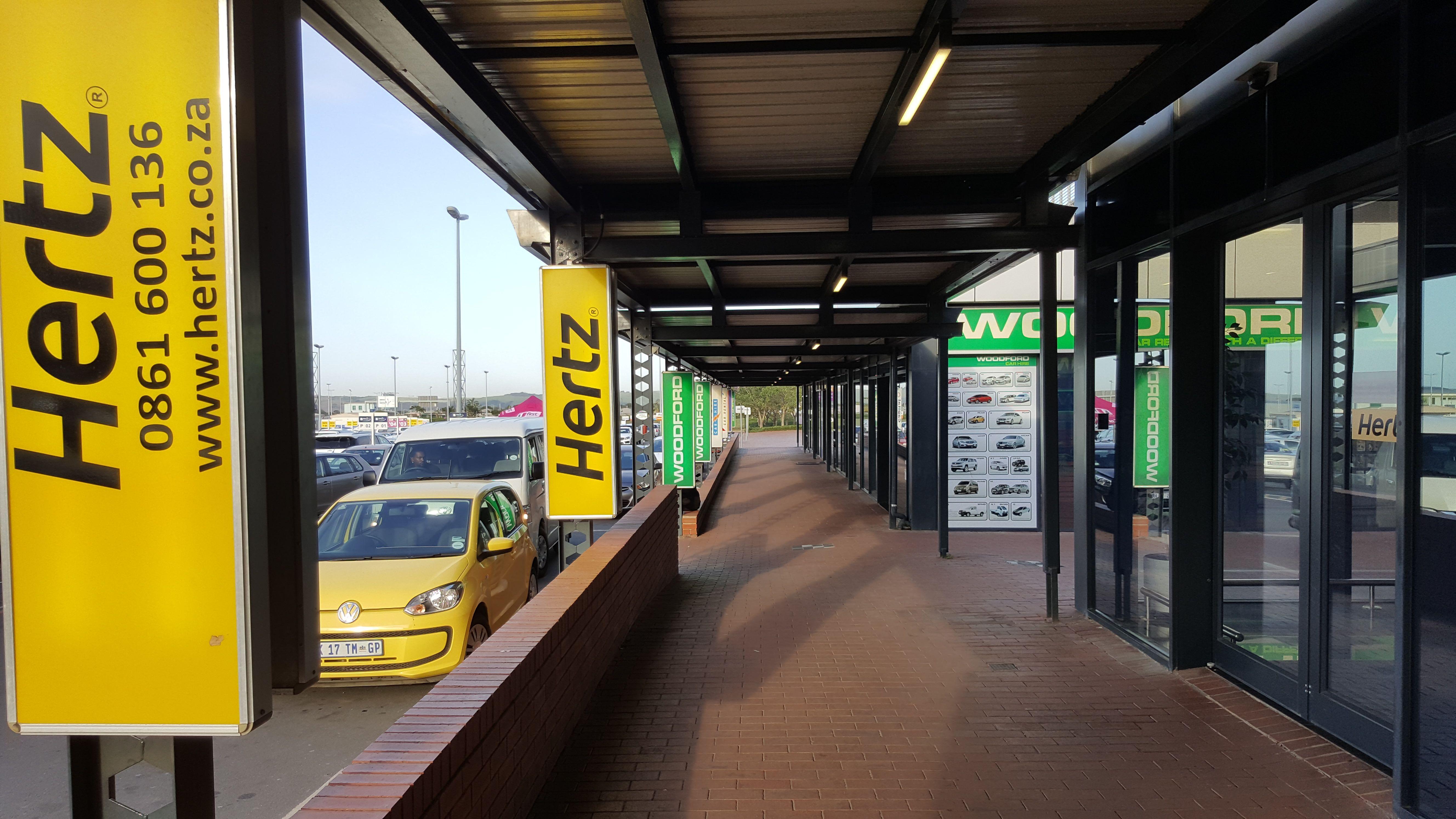 Hertz Car Rental S Office At Durban S King Shaka International Airport Hertz Car Rental Car Rental Hertz