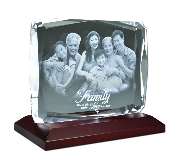 3D laser inner engraving machine on crystal glass tube