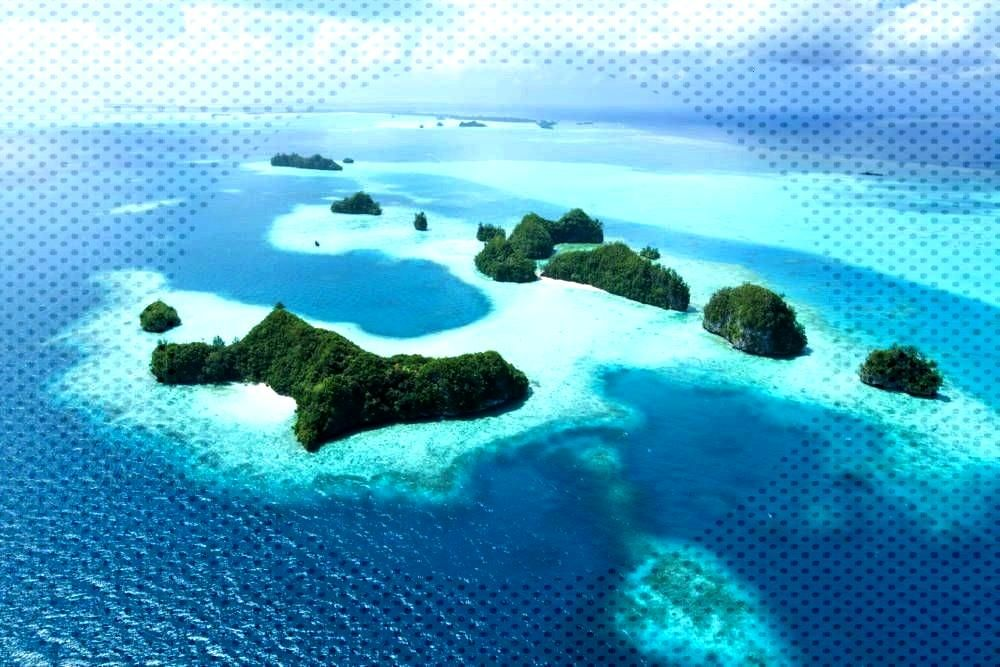 of mass tourism? Study The countries with the fewest vacationers in the world - Micronesia, few v