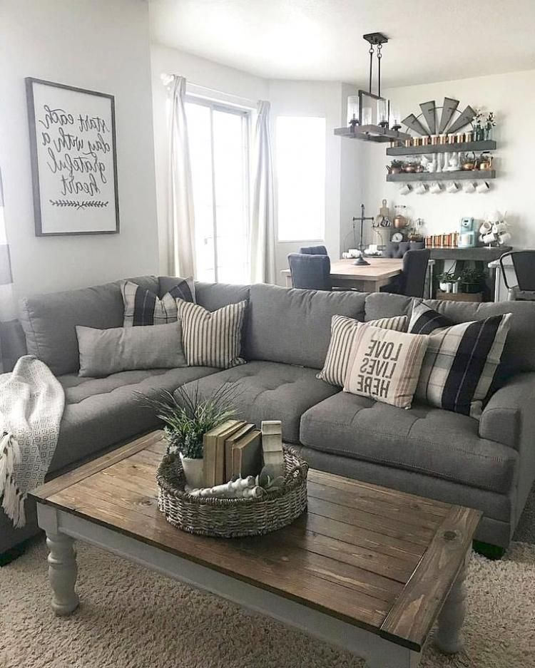 Guide To Buying Living Room Modern Chic Living Room Farm House