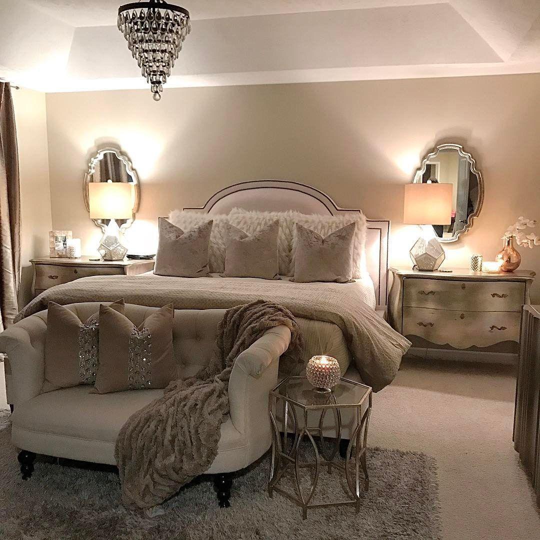 Neutral Master Bedroom Decorating Ideas: #BestWhiteBedroomIdeas