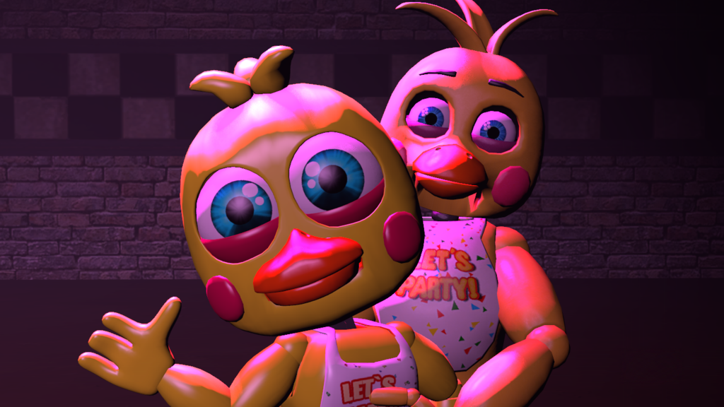 Toy Chica And Her Adventure Form (FNAF SFM) By