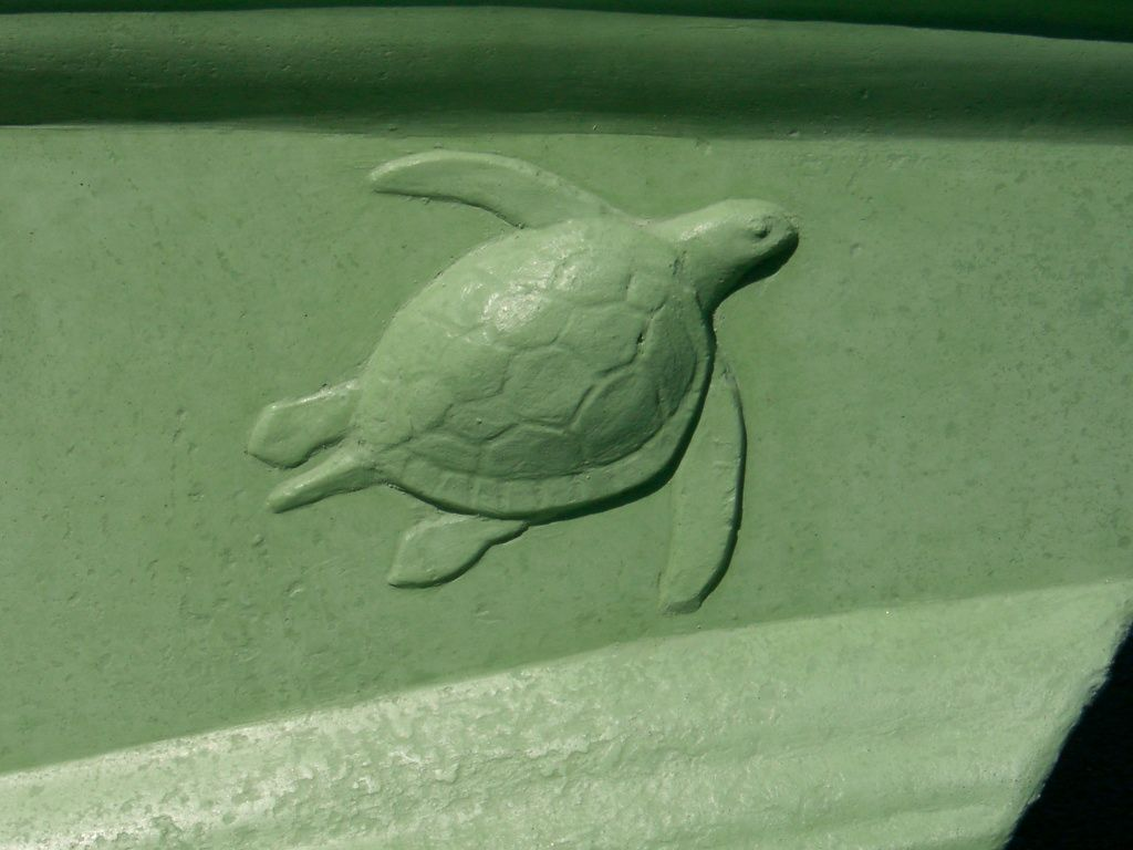#turtle by Flying Turtle Cast Concrete
