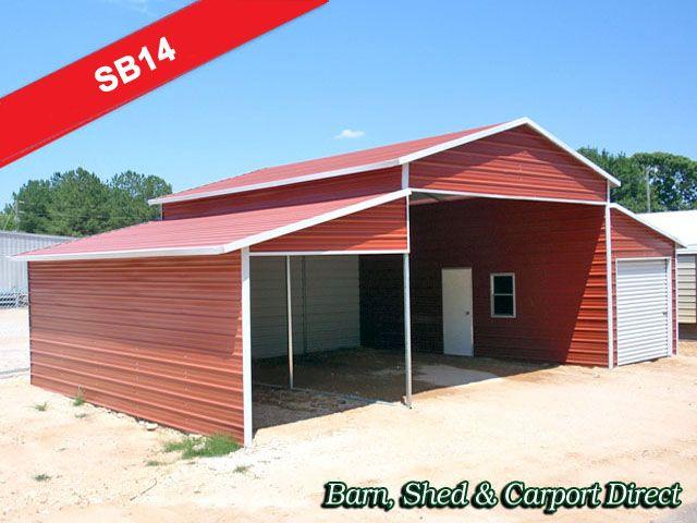 Full Coverage Metal Storage Building : 40\' x 26\' x 8 ...