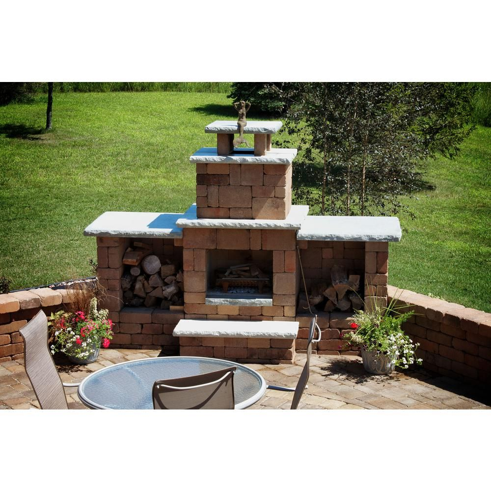 Necessories Desert Compact Outdoor Fireplace 4200039 The Home