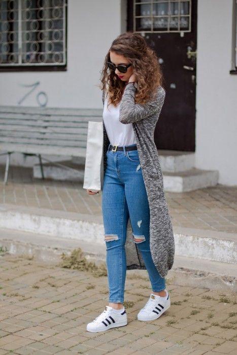 Superstar Adidas Femme Porter 7