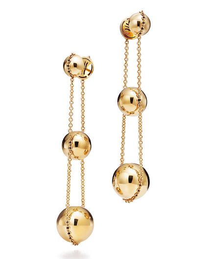 earrings eva grey gold in collections grande lady
